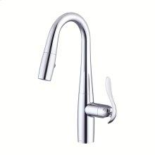 Chrome COMING SUMMER 2019 - Selene® Single Handle Pull-Down Prep Faucet