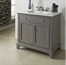 "Smithfield 36"" Vanity - Medium Gray"