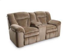 Talon Double Reclining Console Loveseat with Storage