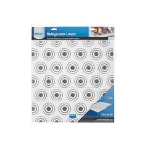 ElectroluxTrim-to-Fit Refrigerator Liner, Grey Circles 2 Pack