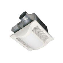WhisperLite 80 CFM Ceiling Mounted Fan/Light Combination