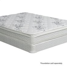 "Queen-Size Jalen 9"" Euro Top Mattress Non-flip"