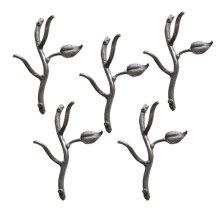 Sassafras Hooks Double- 5 Piece Set