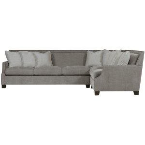 Franco Sectional (3-Piece) in Mocha (751)
