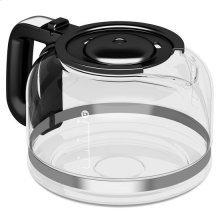 KitchenAid® 8 Cup Glass Carafe - Onyx Black