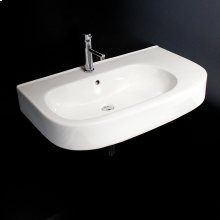 Vanity top porcelain Bathroom Sink with overflow