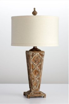 Nadja Table Lamp Limed Gracewood