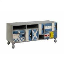 5-drawer, 3-door Cabinet