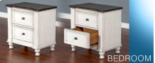 Carriage House 2 Drawer Nightstand