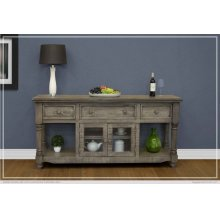 "70"" TV Stand 3 Drawer, 2 Door"