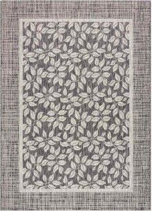 Country Side Ctr01 Charcoal Rectangle Rug 5'3'' X 7'3''