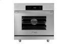 "36"" Heritage Induction Pro Range, Silver Stainless Steel Product Image"
