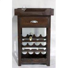 "#595 Hampton Wine Stand 27""wx16.5""dx41""h"