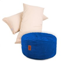 Pillow Pod Footstools - Corduroy - Royal Blue