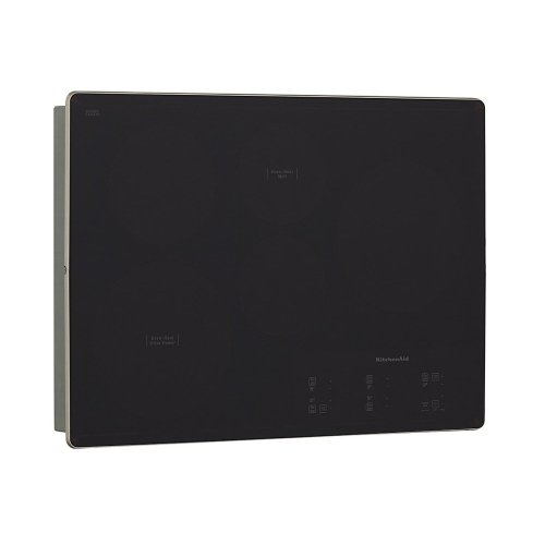 "30"" Electric Cooktop with 5 Elements and Touch-Activated Controls - Black"
