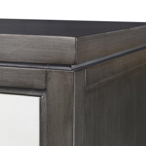Cassia Chest - Grey / Linen