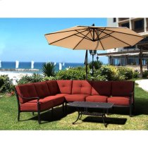 Newport Sectional Middle Armless Chair Product Image