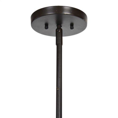Rhombus, 5 Lt Lantern Pendant