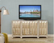 Coast to Coast 4 Door Media Credenza