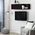 Wall Mounted Storage Unit - Chocolate Product Image