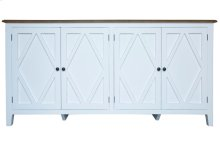 Server, Available in Hampton White Finish Only.