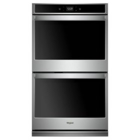 Whirlpool® 8.6 cu. ft. Smart Double Wall Oven with Touchscreen - Stainless Steel
