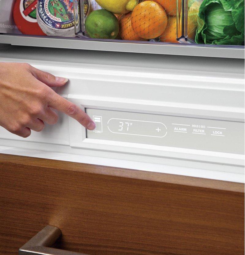 Ge Appliances Zik30gnhii Monogram 30 Integrated Glass Door