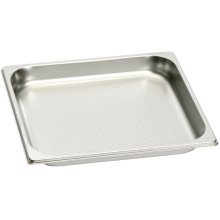 Full Size Stainless Steel Pan - perforated GN 124 230