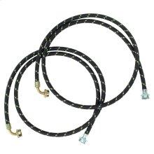 6' Gooseneck Nylon Braid Fill Hoses - 2 Pack