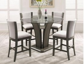 Camelia Counter Height Chair Grey