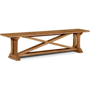 JOHN THOMAS FURNITURE72 Inch Alexa Trestle Bench