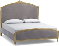 Antoinette King Gilded Upholstered Bed Product Image