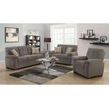 Fairbairn Casual Brown Two-piece Living Room Set