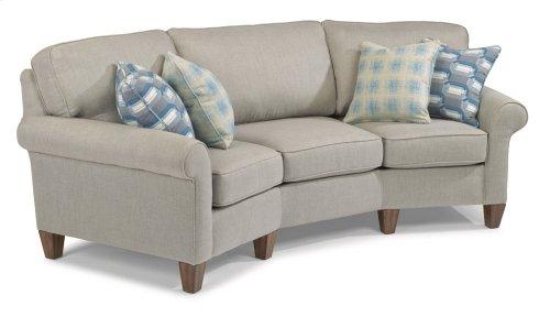 Westside Fabric Conversation Sofa