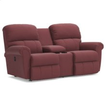 Briggs La-Z-Time® Full Reclining Loveseat w/ Console
