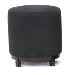 Black Round Foot Stool
