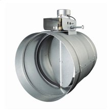 "6"" Universal Automatic Make-Up Air Damper with Pressure Sensor Kit"