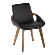 Cosmo Chair - Walnut Bamboo, Black Pu
