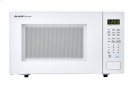 1.4 cu. ft. 1000W Sharp White Countertop Microwave (SMC1441CW) Product Image