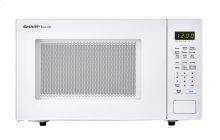 1.4 cu. ft. 1000W Sharp White Countertop Microwave (SMC1441CW)