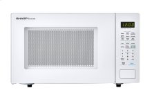 1.4 cu. ft. 1000W Sharp White Countertop Microwave