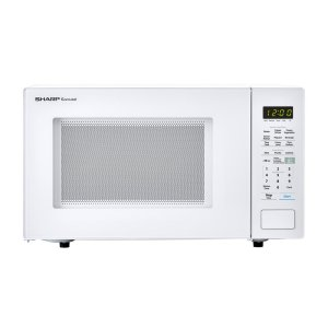 Sharp1.4 cu. ft. 1000W Sharp White Countertop Microwave