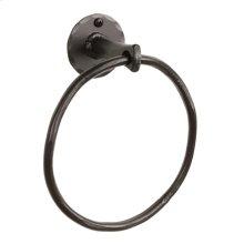 Sherwood Iron Towel Ring