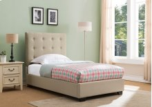 Stratford Platform Bed - Twin, Taupe