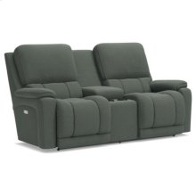 Greyson PowerRecline La-Z-Time® Full Reclining Loveseat w/ Console