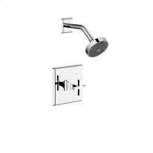 Shower Trim Leyden (series 14) Polished Chrome (1)