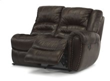 Crosstown Leather RAF Power Reclining Love Seat