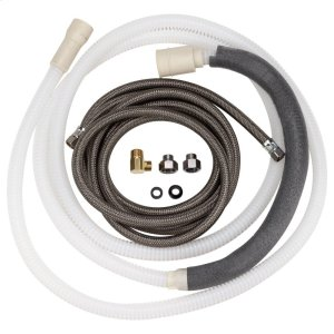 Large-Port 10' Drain Hose Kit (Tall Tub) -