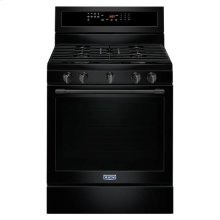 Maytag® 30-Inch Wide Gas Range With True Convection And Power Preheat - 5.8 Cu. Ft. - Black