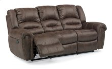 Downtown Fabric Reclining Sofa